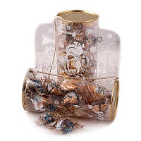 Печенье с предсказаниями «Дед Мороз», 23 шт. в шоколадной глазури