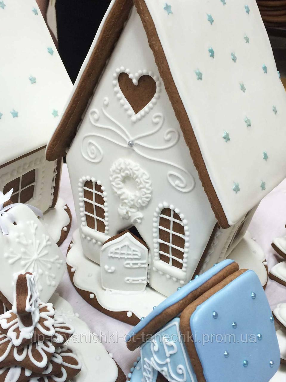 Пряниковий будиночок на Новий рік, Різдво