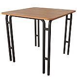 Стол для школьной столовой Лира от производителя (900*780*750h), фото 3