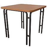 Стол для школьной столовой Лира от производителя (900*780*750h), фото 4
