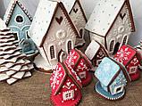 Пряниковий будиночок на Новий рік, Різдво, фото 4