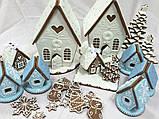 Пряниковий будиночок на Новий рік, Різдво, фото 3