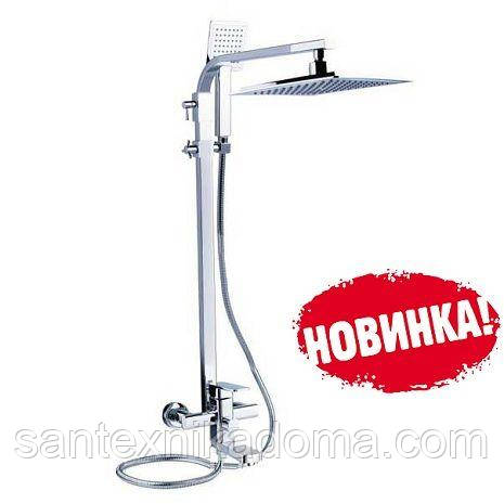 Душевая система 3-х функциональная LEB16, Смеситель ZEGOR (TROYA) ван/тропик LEB16-A123 Киев купить доставка.
