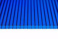 Поликарбонат PLX синий  4мм  6*2,1м