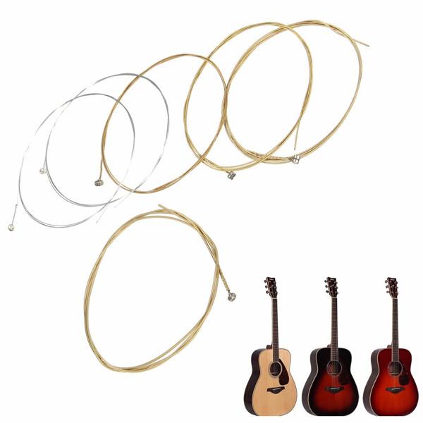 Набор из 6 медных гитарных струн для акустической гитары - ➊TopShop ➠ Товары из Китая с бесплатной доставкой в Украину! в Днепре