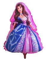 Шарик из фольги на палочке Принцесса 38 х 26 см