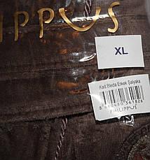 Мужской халат без капюшона Bleda коричневый, фото 3