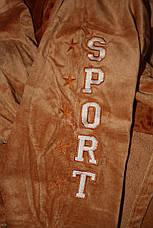 SPORT халат мужской махровый на запах, фото 3
