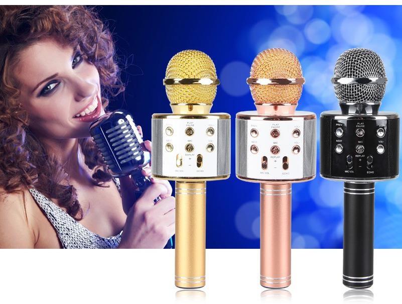 Беспроводной микрофон караоке Bluetooth 858