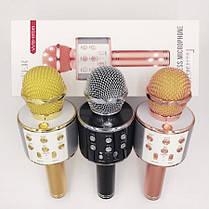 Беспроводной микрофон караоке Bluetooth 858, фото 3