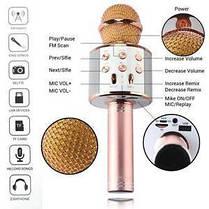 Беспроводной микрофон караоке Bluetooth 858, фото 2