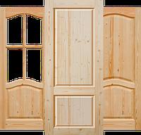 Дверной блок из массива сосны