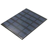 6V 1.5W моно 110 мм x 140 мм x 2 мм 250ma мини-солнечные фотоэлектрические панели
