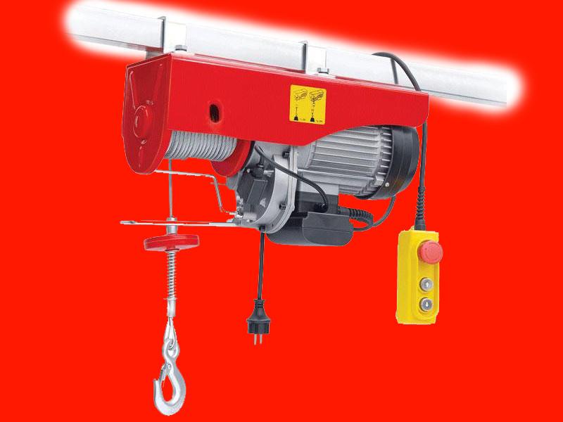 Электрический тельфер на 1 тонну Intertool GT1483