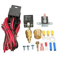 175 ~ 185 степень Temp вентилятора охлаждения двигателя термостат датчик переключателя 4pins реле комплект