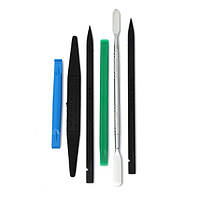 6 в 1 пластиковые инструменты совать нос и открытие металла spudger инструменты для мобильного телефона