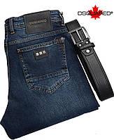 Стильные мужские джинсы DSQUARED,38 размер,с ремнем.Качественные мужские джинсы.
