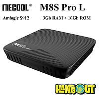 Mecool M8S Pro L TV Box Amlogic S912, 3Gb+16Gb