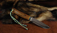 """Нож для охоты, туризма, рыбалки """"Патриот"""", 40Х13, ножны нат.кожа"""