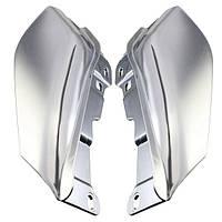 Хром абс дефлекторы воздуха в середине кадров для Harley Davidson Electra улице скольжения