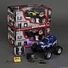Джип 9013 р/у, аккум. батарея, 3 вида, свет колес, в коробке