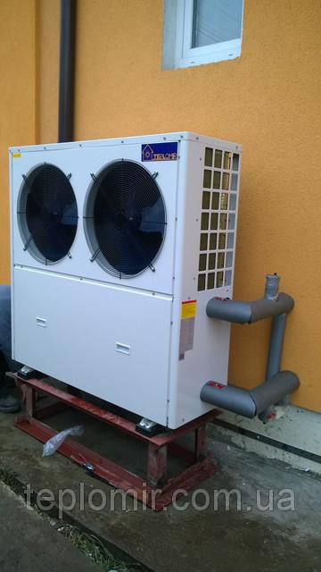 Тепловой насос TEPLOMIR EVI18 воздух-вода г.Киев 6