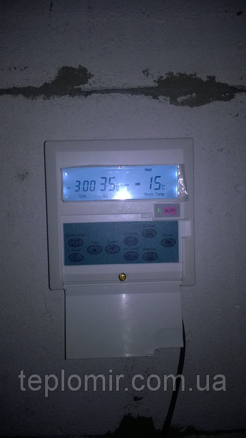 Монтаж теплового насоса TEPLOMIR EVI18  1