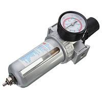 SFR200 Пневматический воздушный фильтр Регулятор давления газа Манометр для пневмокомпрессора