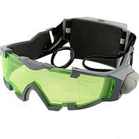 Очки ночного видения объектив регулируемая резинка ночные очки Eyeshield всему миру зеленый