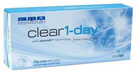 КонтактныелинзыClear 1 day однодневные, (30 шт), Clear Lab