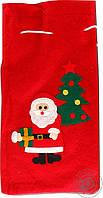 Мешок новогодний для подарков рождественский