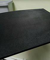 Полиуретан для обуви ITALY 260x180x7мм. рифленый\черный