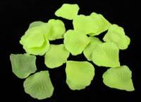 Искусственные лепестки роз лимонные 150 шт./упак.