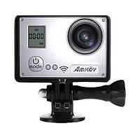 Камера действия Wi-Fi HD amkov amk7000s 1080 пунктов 60 футов в секунду с отдаленным чипсетом sunplus 6350 диспетчера