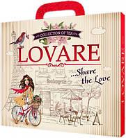 Коллекция чая Lovare Портфельчик 12 видов по 5 шт 120 г