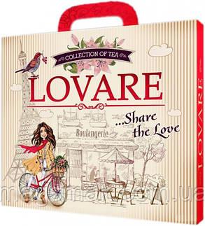 Коллекция чая Lovare Портфельчик 12 видов по 5 шт 120 г , фото 2