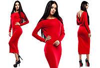 Изумительное платье Николь с открытой спиной (42-48 в расцветках)