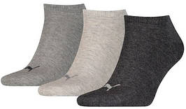 Носки Puma Unisex Sneaker Plain 3P 906807-14