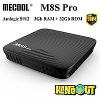 Mecool M8S Pro TV Box Amlogic S912, 3Gb DDR4+32Gb