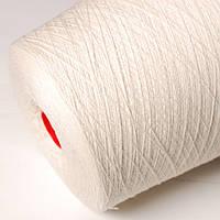 Пряжа Cashmere801010, белый натуральный (80% меринос, 10% шёлк, 10% кашемир; 1500 м/100 г)