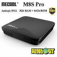 Mecool M8S Pro TV Box Amlogic S912, 3Gb DDR4+16Gb