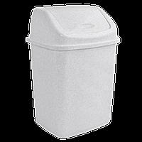 Ведро для мусора 10л с крышкой