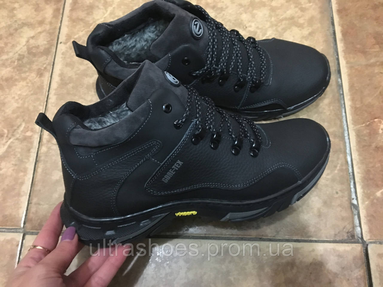 47e1db16e Ecco зимние мужские ботинки 43, цена 1 100 грн., купить в Харькове —  Prom.ua (ID#624801226)