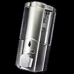 Дозатор для мыла одинарный, настенный ( Д01) Диспансер хромированный.