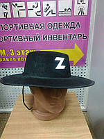 """Шляпа """"Зорро"""""""