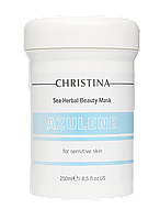 Sea Herbal Beauty Mask Azulene - Азуленовая маска красоты для чувствительной кожи, 250 мл