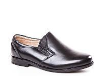 Детские кожаные туфли оптом для мальчиков C722-2 (10пар 27-32)