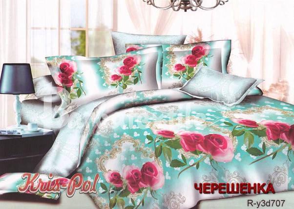 Полуторный набор постельного белья 150*220 из Ранфорса №18707 KRISPOL™, фото 2