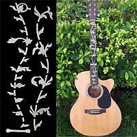 Дерево жизни бас гитары гриф инкрустацией наклейкой
