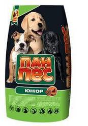 Корм Пан Пес ЮНИОР для щенков всех пород 10 кг лучшая цена-акция